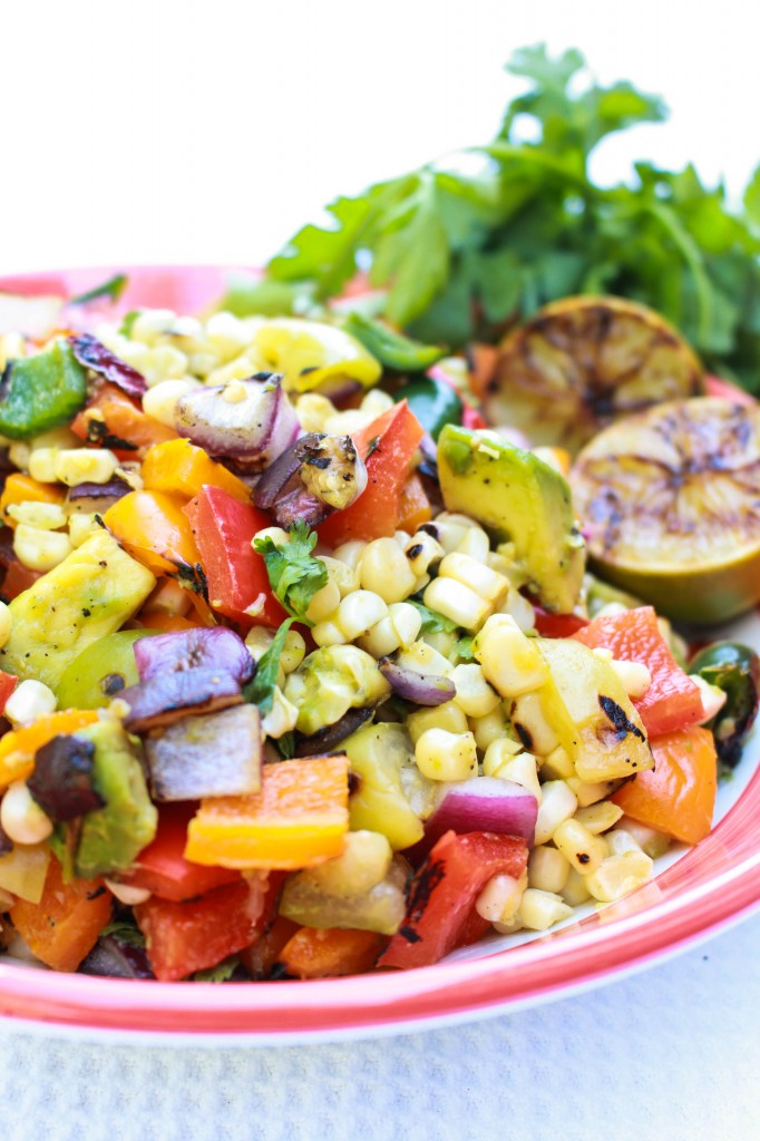 Grilled Fiests Salad Recipe | Catching Seeds