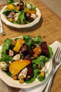 Roasted Beet Salad | Catching Seeds