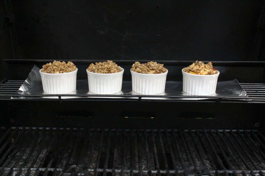 Grilled Pear Crisp | Catching Seeds