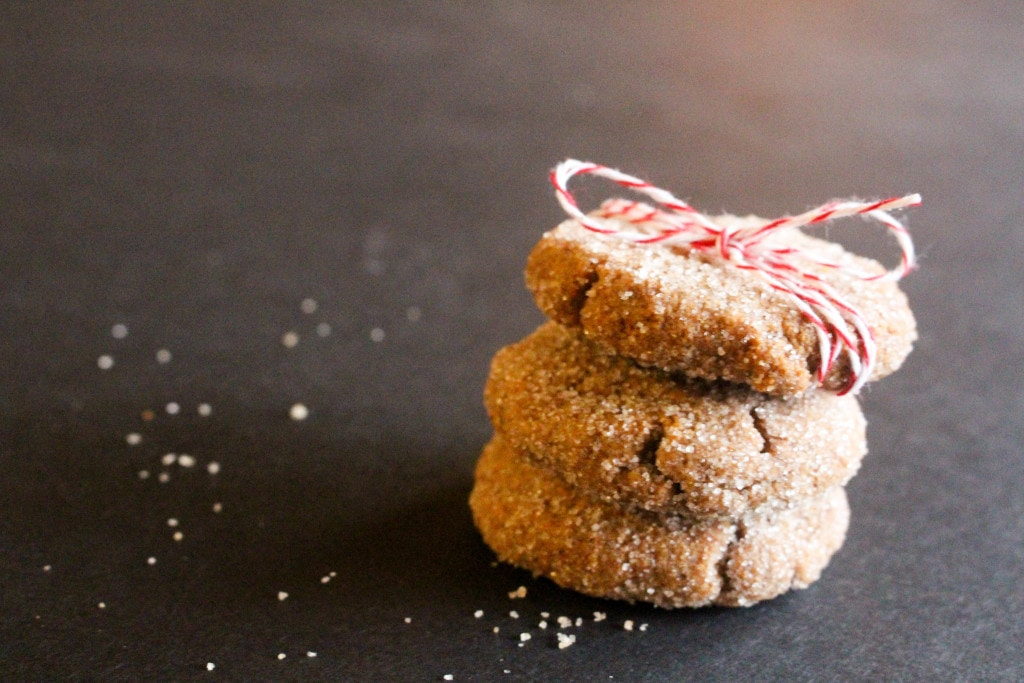 Peanut Butter Ginger Snaps | Catching Seeds