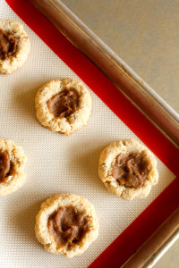 Grain-Free Thumbprints w/ Apple Butter Filling | Catching Seeds