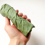 Delicious and fresh collard wraps and a secret to getting them to roll perfectly every time! #glutenfree #vegan