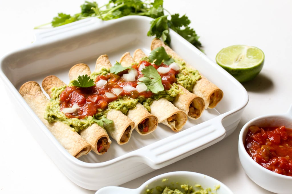 Homemade taquitos are SO much easier than you would think!