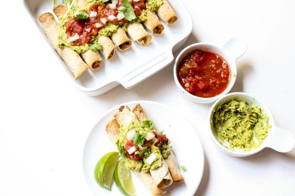 These homemade taquitos are SO much easier than you would think!