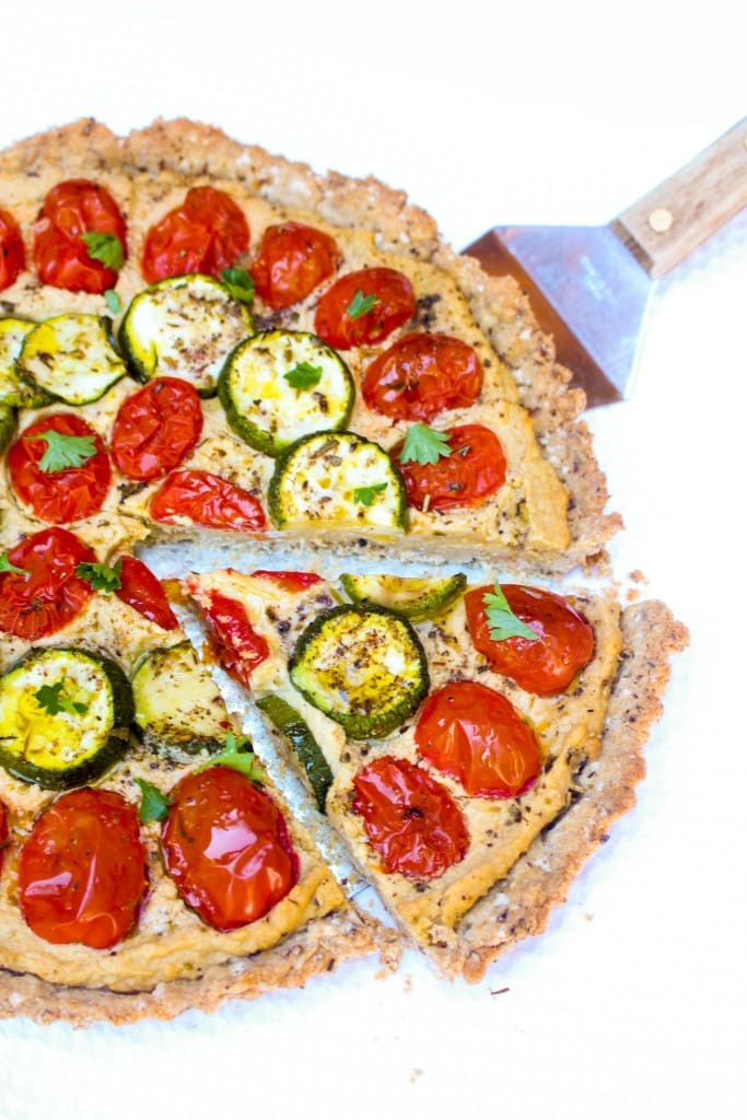 A simple and delicious summer tart that's vegan and gluten-free