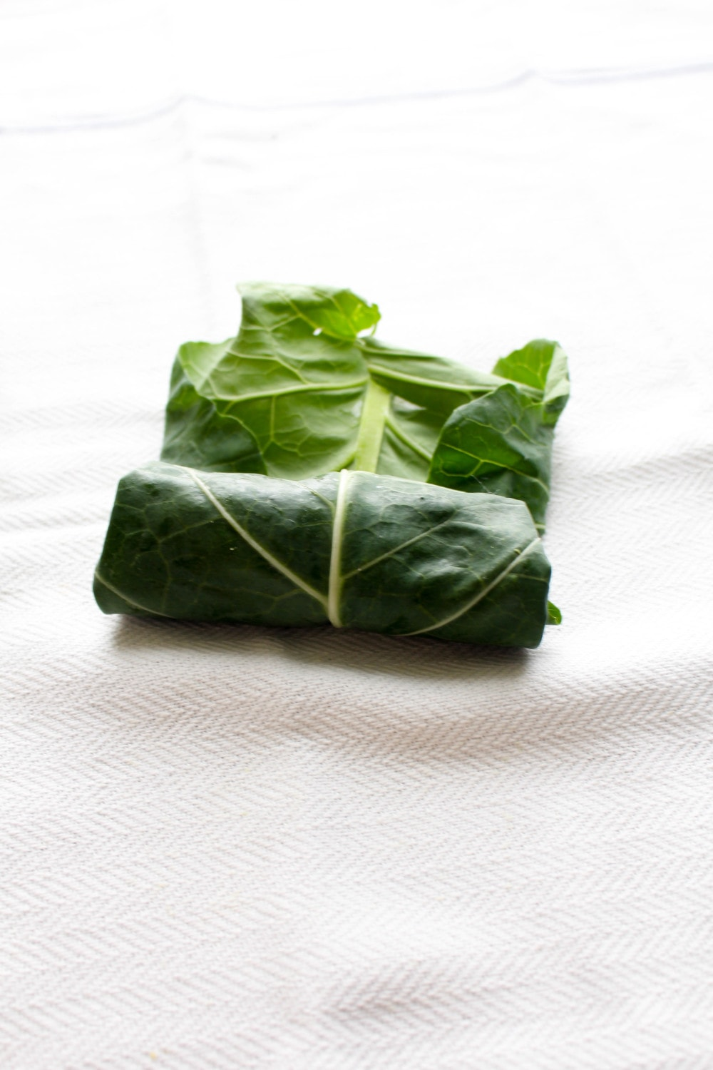 A simple secret makes these collards roll without cracking.
