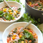 Kale and pumpkin add a fall twist to this classic soup.