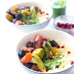 This dish is chocked full of veggies! #glutenfree #vegan