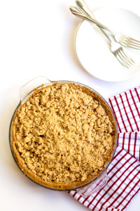 The impossible made possible. A vegan and gluten-free dutch apple pie!