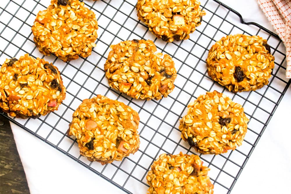 Breakfast cookies made with simple wholesome ingredients.