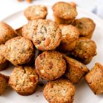 Gluten Free Aussie Bites with coconut and chia seeds.