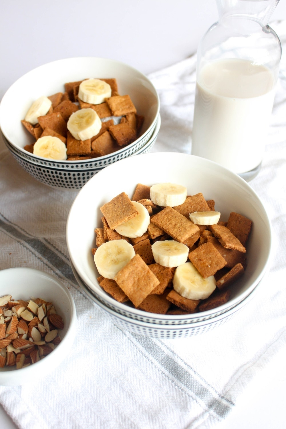 Guess what!?!? Homemade cereal is EASY! Oh and delicious.