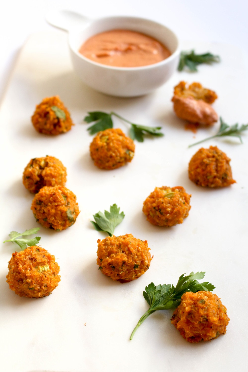 Sweet Potato Quinoa Croquettes