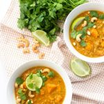 Easy Sweet Potato Red Lentil Dal