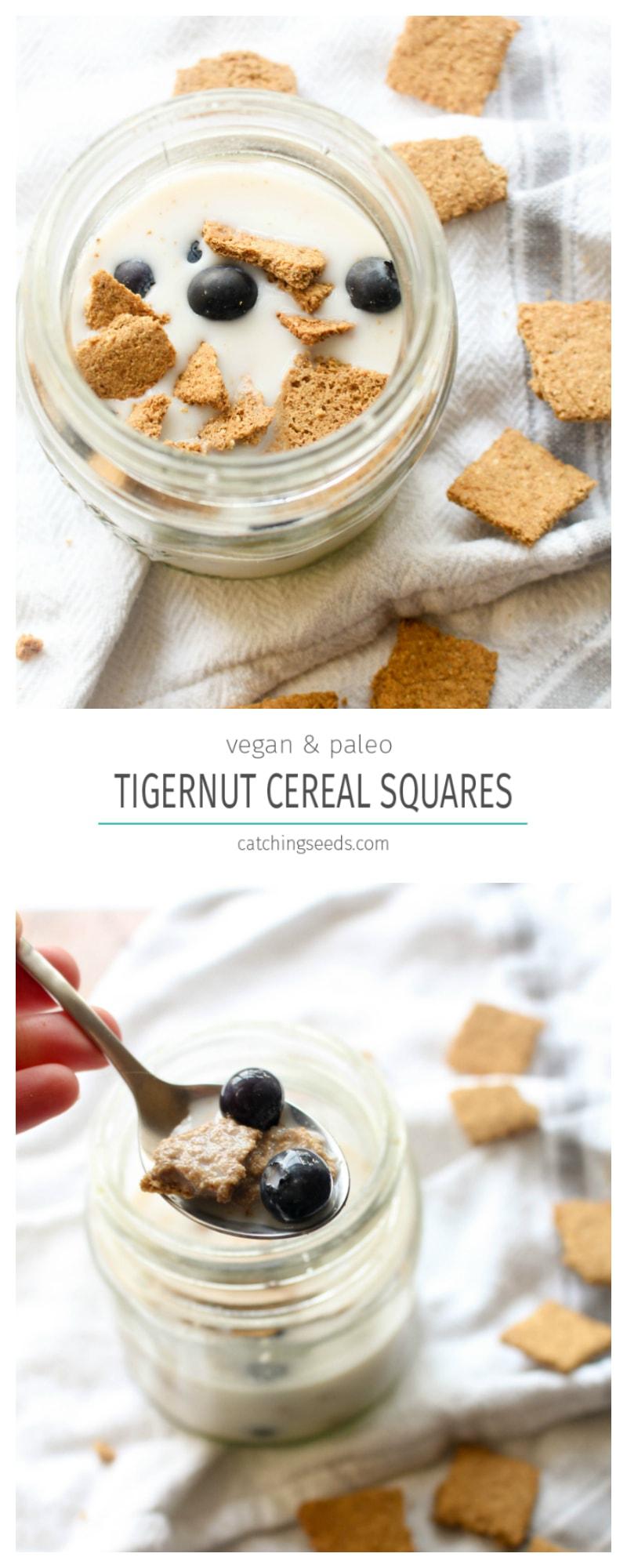Tigernut Cereal Squares