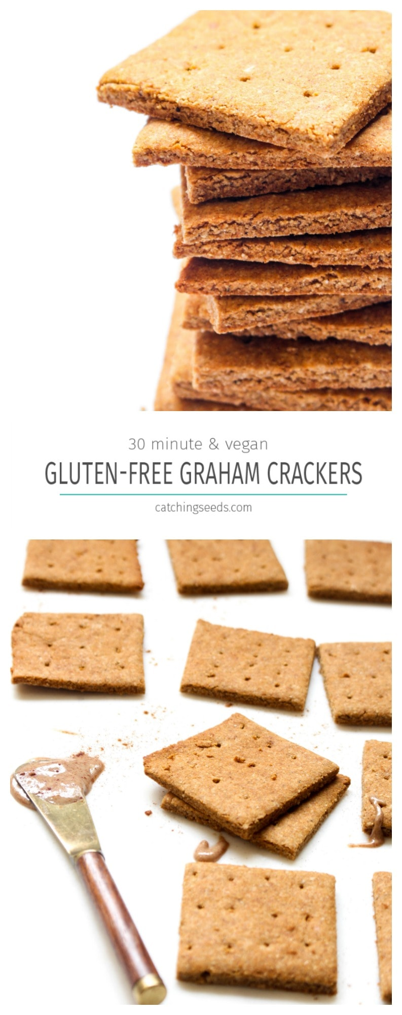 An easy allergy-friendly graham that is ready in 30 minutes!