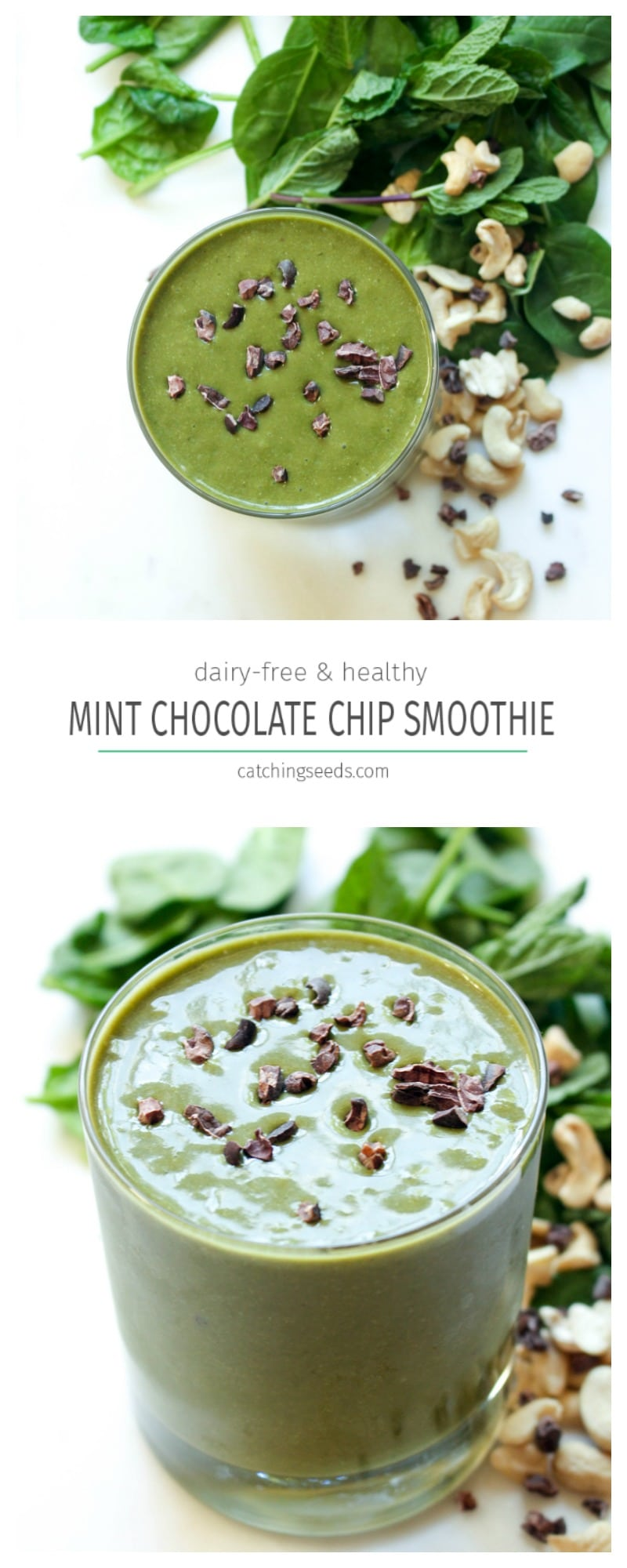 A healthy plant-based breakfast smoothie that tastes like dessert!