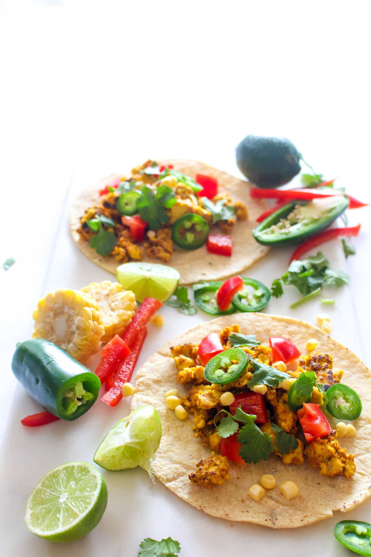 Easy tacos that are gluten-free, vegan, egg-free, dairy-free and BIG on flavor!