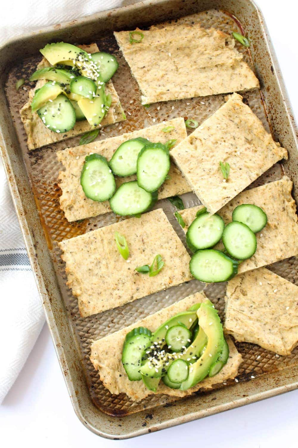A healthy grain free flatbread recipe that is quick and easy. Yeast-free, dairy-free, & egg-free!