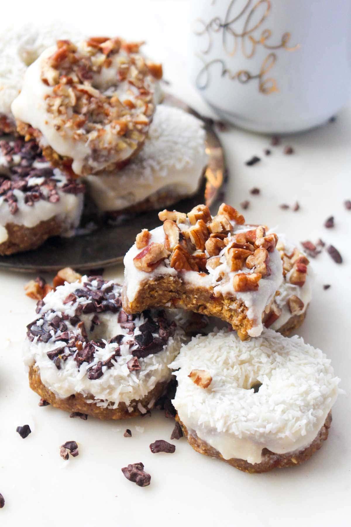 Pumpkin Spice Latte Donnuts