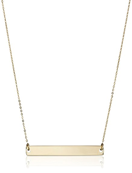 Gold Bar Necklace | The Best Christmas Gifts (that you can buy without leaving the house!) | CatchingSeeds.com