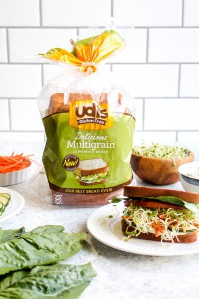 Udi's Gluten Free Multigrain Sandwich Bread