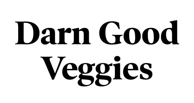 Darn Good Veggies logo