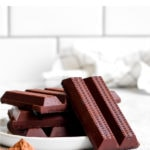 2 ingredient dairy free milk chocolate.