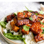 20 minute vegan gluten free umami bomb tofu.