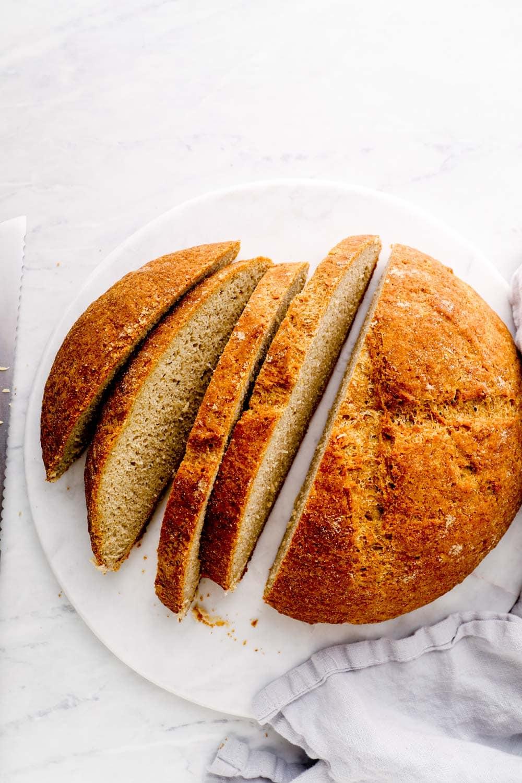 Sliced Artisan Gluten Free Bread.
