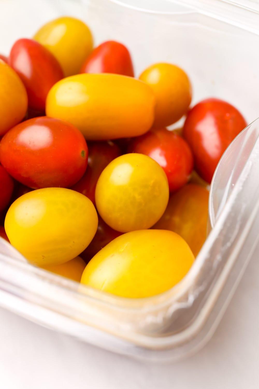 Tomatoes for making Vegan Pasta Primavera