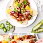 BBQ Jackfruit Nachos ready in 20 minutes!