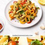 Vegan Pasta Primavera ready in 20 minutes!