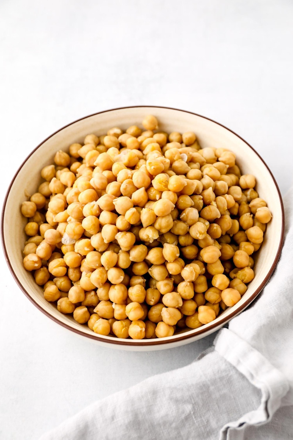 Cooked Instant Pot Chickpeas