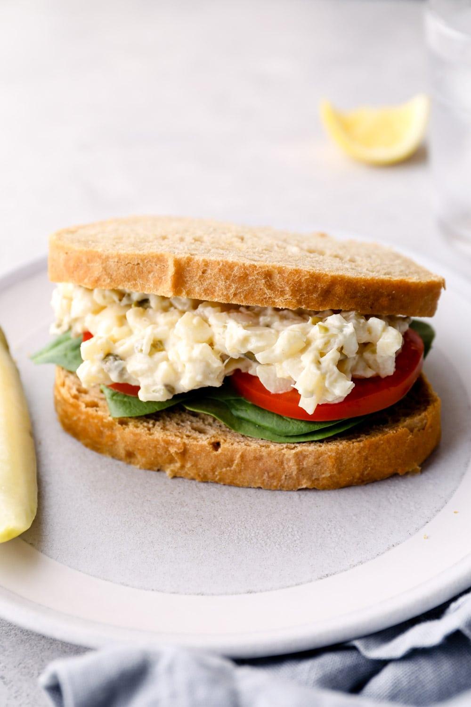 A tuna sandwich.